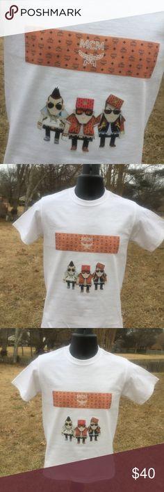 MCM Cool Dudes Box Logo T Shirt Custom made to order. Sizes Avail S-XXL MCM Shirts Tees - Short Sleeve