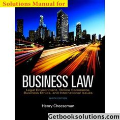 Law 12th pdf edition edition alternate business