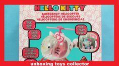 Hello Kitty Emergency Helicopter. Hélicoptère de secours. Helicóptero de...