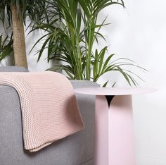 Pretty in pink 💓 The High Collar side table in pink by @eno_studio is finally here! Just in time for Spring.