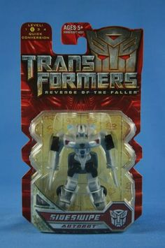 Transformers Revenge Of The Fallen SIDESWIPE Legends MOSC Side Swipe