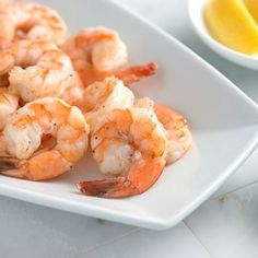 Our favorite shrimp cocktail recipe! Instead of poaching, we quickly roast shrimp in a hot oven until sweet and tender.