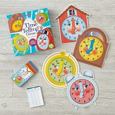 The Land of Nod - Kids Time Telling Game.  $15.30
