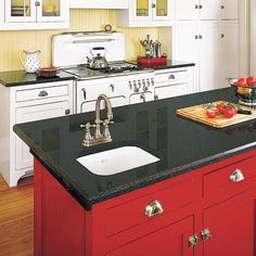 Photo: Olson Photographic/Cornerhouse Stock | thisoldhouse.com | from All About Kitchen Islands