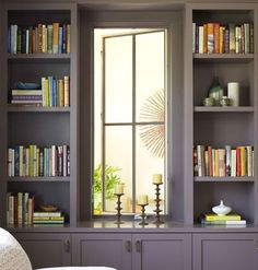 A built in bookcase is necessary in my future home
