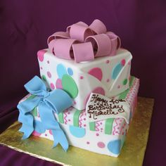 Cake idea for girl's birthday