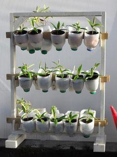 Recycled plastic milk gallon craft Ideas
