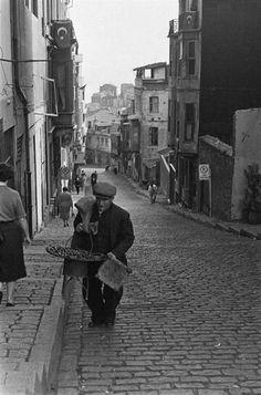 60 larda İstanbulda kestaneci