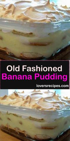 Old Fashioned Banana Pudding fashioned banana pudding fashioned pudding bread cake healthy muffins pudding recipes chocolat plantain recette recette Banana Pudding From Scratch, Old Fashioned Banana Pudding, No Bake Banana Pudding, Banana Pudding Desserts, Southern Banana Pudding, Homemade Banana Pudding, Banana Recipes, Keto Pudding, Chia Pudding