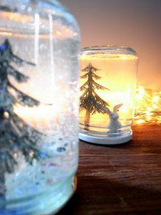 El hada de papel: Bola de nieve / Snow globe / Schneekugel