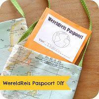 World Party - wereldreisfeestje met tasjes, paspoorten en spelletjes