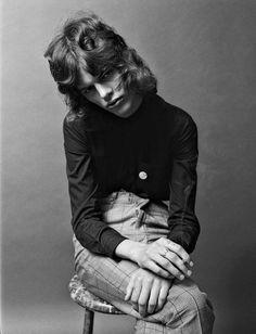 "Julia Garner Covers in ""Girls & Boys"" by Steven Meisel for Vogue Italia, January 2016"