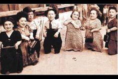 The Lilliput Troupe (The Seven Dwarfs of Auschwitz).  They survived only out of the Dr.'s interest in experimenting on them!