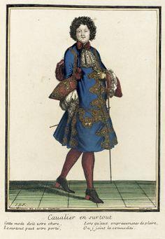 Madame de Pompadour (From Recueil des modes de la cour de France...)
