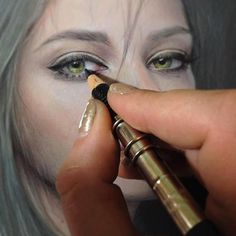 Amazing Colored Pencil Drawing by Bec Winnel.