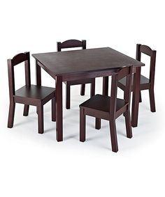 Loving this Children's Table & Chair Set on #zulily! #zulilyfinds