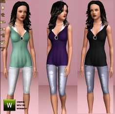 Found in TSR Category 'Sims 3 Female Clothing'