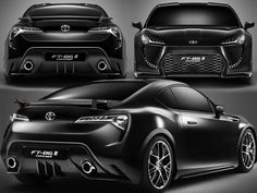 toyota future cars designs | Toyota FT-86 II 2012 Concept Car - Concept And Design Cars