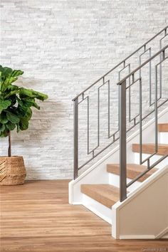 3683 Pelham Ln, Charlotte, NC 28211 - realtor.com® Iron Staircase Railing, Banisters, Steel Railing Design, Indoor Railing, Modern Entrance Door, Home Stairs Design, Village House Design, Grades, Modern Stairs