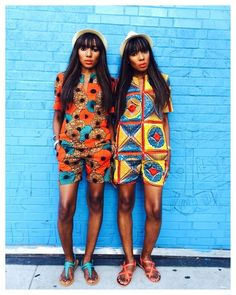 dpipertwins | African Fashion