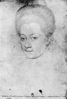 François Quesnel - Henriette d'Entragues, marquise de Verneuil
