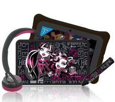 "Monster High 7"" touch tablet + accessories pack"