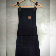 Washed Denim Apron