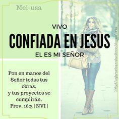 MUJERES DE EXCELENCIA INTERNACIONAL     MEI-USA: Vivo confiada en JESUS