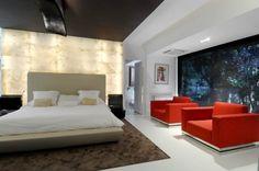 Ultra Modern Interior Futuristic Architecture