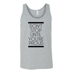 Don't Stop Workout Tank – Sweaties