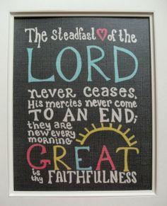 Lamentations 3:22-23