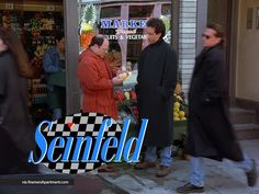 Seinfeld with checkerboard
