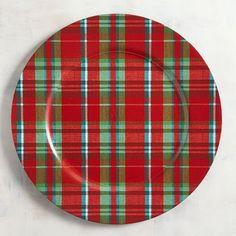 Woven Plaid Charger Plate Unique Home Decor, Home Decor Items, Christmas Tea, Charger Plates, Christmas Decorations, Holiday Decor, Decorating Your Home, Decorating Ideas, Plaid