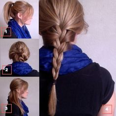 4 cute and easy hairstyles for travel. I will be wearing them to school! Cause I SUCK at doing hair like really really really really really really bad Travel Hairstyles, Cute Hairstyles, Hair Dos, My Hair, Thick Hair Problems, Morning Hair, Square Face Hairstyles, Good Hair Day, Stylish Hair