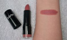 "Dupe for MAC 'Brave""  Nyx round lipstick, Thailia"