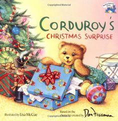 Corduroy's Christmas Surprise by Don Freeman http://smile.amazon.com/dp/0448421917/ref=cm_sw_r_pi_dp_yjAfvb0P8FB80