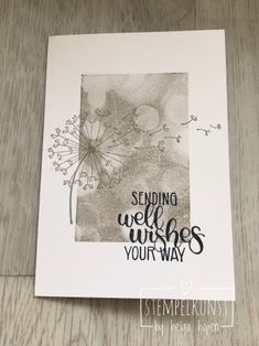 Dandelion Wishes and Bokeh Dots Stampin' Up!