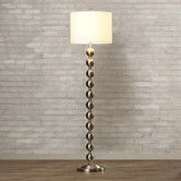 "Found it at AllModern - Pellston 59"" Floor Lamp in Brushed Steel"