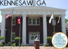 Kennesaw, GA: The 10th safest city in Georgia