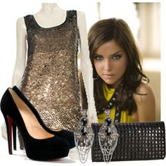 Great New Year's Eve outfit!