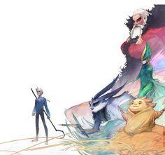 01 Cinq Legendes art