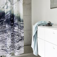 By Nord Shower Curtain Wave | Occa-Home UK