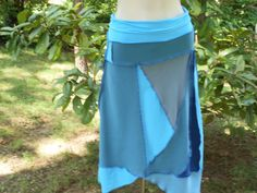 Upcycled cotton skirt. Inside Out by Irina.