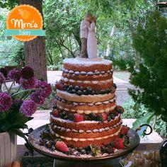 Naked Cake Beijinho e Brigadeiro - Bolo de Casamento - Wedding Cake