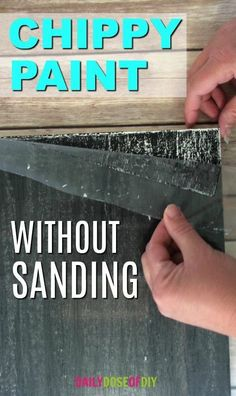 How To Chippy Paint Without Sanding or using vaseline. The DIY chippy paint technique that saves time and mess. How To Chippy Paint Without Sanding or using vaseline. The DIY chippy paint technique that saves time and mess. Wood Crafts Furniture, Paint Furniture, Diy Wood Projects, Furniture Projects, Woodworking Projects, Woodworking Furniture, Furniture Plans, Simple Furniture, Furniture Websites