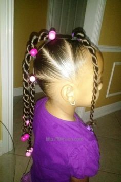 Hairstyles For Little Girls Alluring Mohawk With Twists Hair Style For Little Girls  Hair Tips & Hair
