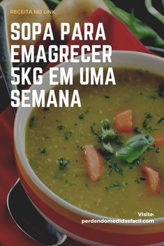 Aprenda a receita de sopa emagrecedora para perder de 5 kg a 8 kg em 15 dias e perder a gordura da barriga Sopa emagrecedora Sopa para emagrecer Sopa detox para emagrecer Sopa para emagrecer receita Veggie Recipes, Diet Recipes, Cooking Recipes, Healthy Recipes, Sopas Low Carb, Egg Diet Plan, Tasty Videos, Healthy Life, Food And Drink