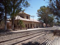 Railroad station, San Miguel de Allende, Mexico