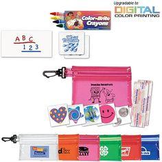 Promotional Children's Fun Care Kit #school #logo #promoproducts #logo | Customized Children Kits | Promotional Children Kits