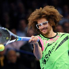 » LMFAO's Redfoo Is Now A Serious Tennis Player